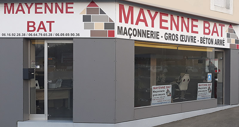 Enseigne Mayenne bat